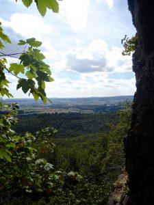 Hohenstein: Die Aussicht vom Stand