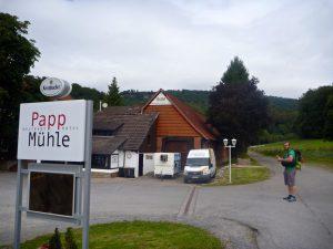 Hohensteinhütte bei der Pappmühle