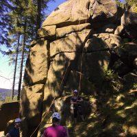 Am schattigen Harzer Fels
