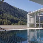Alpenpanoramablick aus dem Spa-Bereich